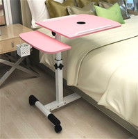 LM1178 High quality (48*20)*40cm Laptop Desk Movable Anti Slip Notebook Computer table with pen case & fan