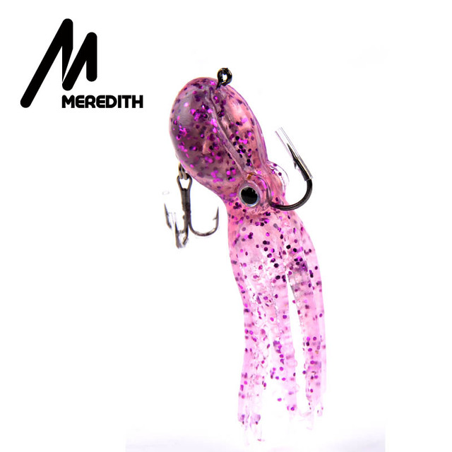 MEREDITH fishing  23g 9cm long tail soft lead Octopus fishing lures