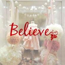 Рождественский праздник декоративная наклейка для стен считаем кавычки домашний Гостиная стены Стикеры арт строительства арочных ангаров...