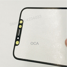 2PCS AAA Front Screen Outer Glass Len with OCA Assembly for iPhone X Touch Panel Replacement Repair Parts