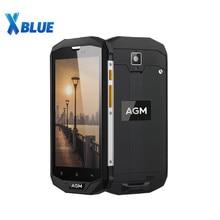 AGM A8 4G IP68 مقاوم للماء الهاتف الذكي أندرويد 7.0 5.0 بوصة MSM8916 رباعية النواة 1.2GHz 3GB RAM 32GB ROM 13.0MP 4050mAh بطارية الهاتف