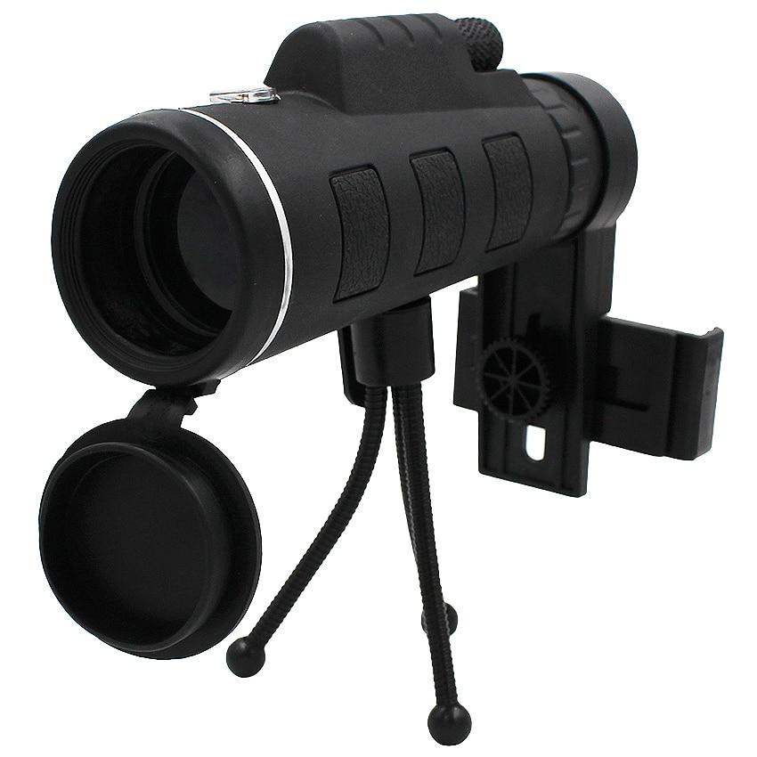 Ecusells 40X Zoom Lens for Smartphone Telescope for Mobile Lente Para Celularl Monocular Camera Zoom Lenses for Smart Phone