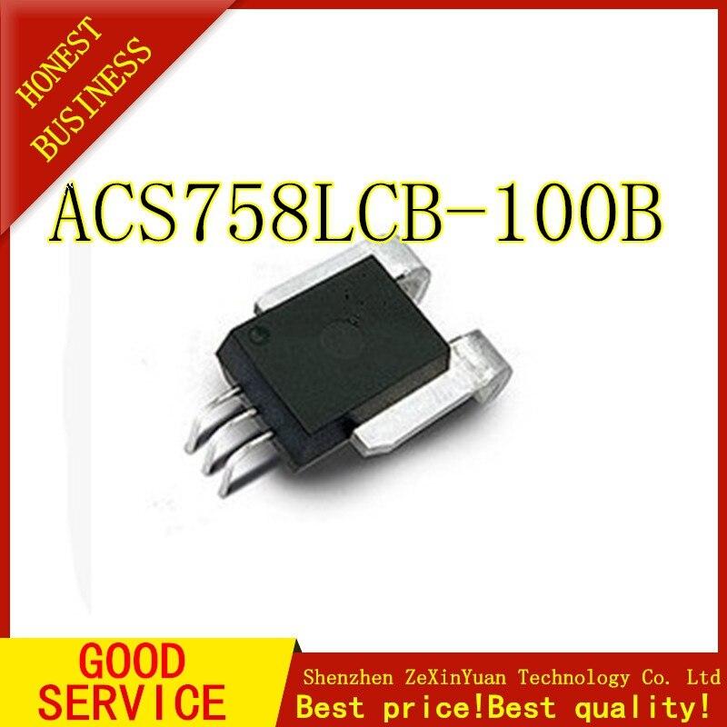 2pcs/lot ACS758LCB-100B ACS758LCB-100B-PFF-T ACS758 ACS758LCB In Stock