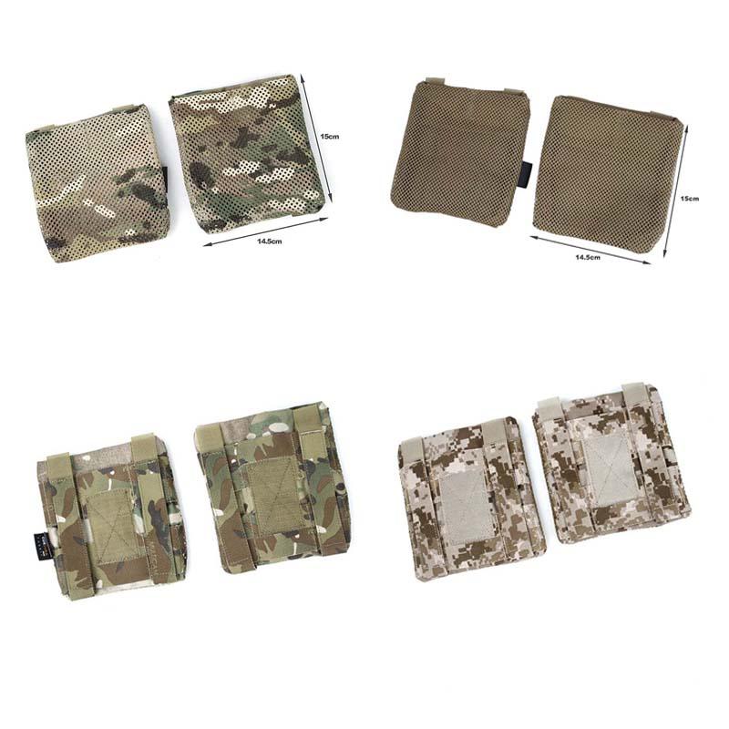 Outdoor TMC MT version Side Plate Pouch Set Multicam for JPC Tactical Vest