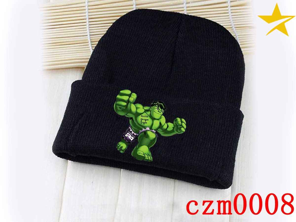 19833905be0 Detail Feedback Questions about Marvel Comics The Hulk Movie Black Skullies  Beanie Knitted Cotton Hat Cap Cosplay Costume Unisex Fashion Gifts Cool on  ...