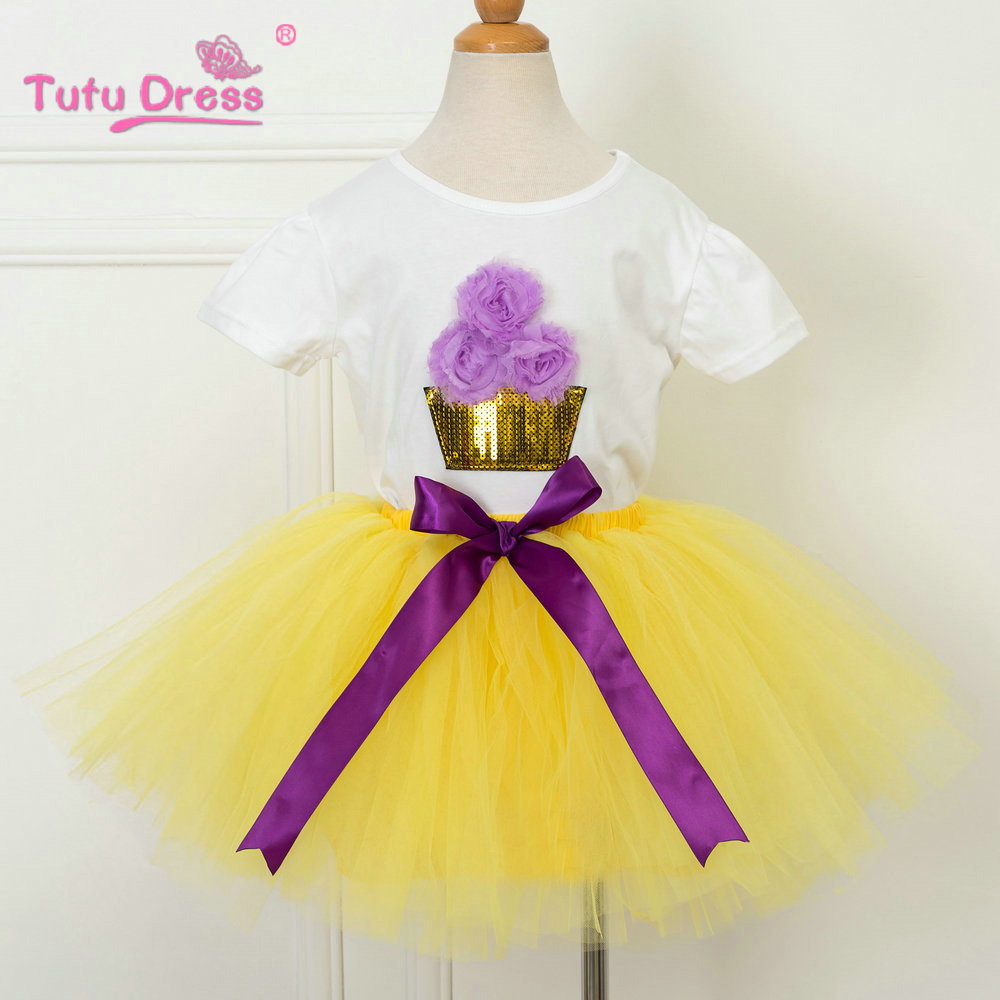Baby Tutu Clothes Sets Kids Clothes For Girl Birthday Outfits Toddler Girl Clothing Sets Suits Baby Costume hot pink tutu first birthday party outfits baby born clothing sets baby girl baptism clothes glitter bebes infant sets suits