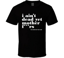 Print T Shirt Short Sleeve Short Sleeve Print  I Ain'T Dead Yet Legend Crew Neck Mens Tee watermelon print short sleeve tee