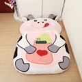 Dorimytrader Cartoon Animal Milk Cow Beanbag Stuffed Soft Huge Bed Tatami Sofa Carpet Mattress 2 Sizes Free Shipping DY60847