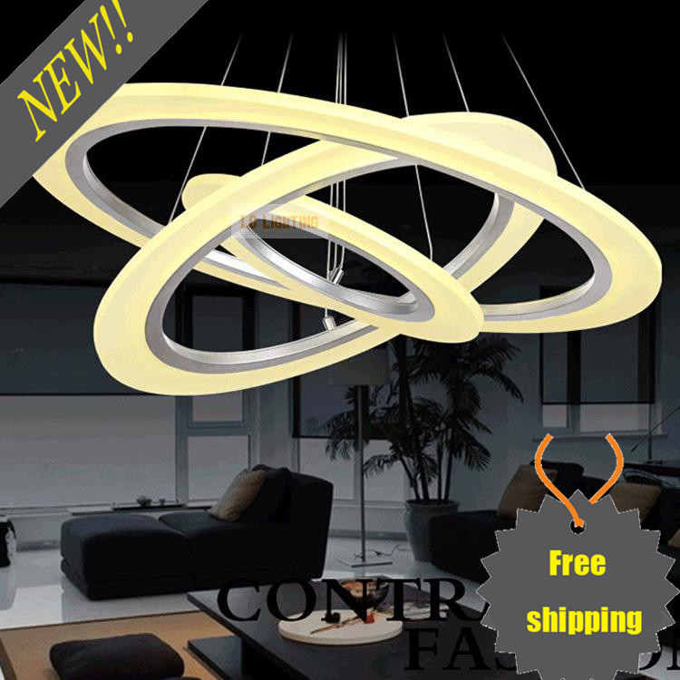 Led Light Fixture Keeps Going Out: Circle Ring LED Modern Chandelier Light Fixture LED