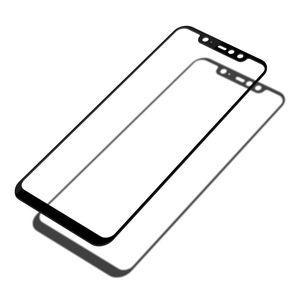 Image 5 - מזג זכוכית עבור Xiaomi Pocophone F1 מסך מגן על Xiomi Pocophone F1 Poko F 1 1F Poco מגן זכוכית מלא כיסוי סרט