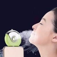 2 PCS Lot Mini Humidifier USB Charging For IPhone Android Nano Mist Handy Atomization Facial Moisturizing