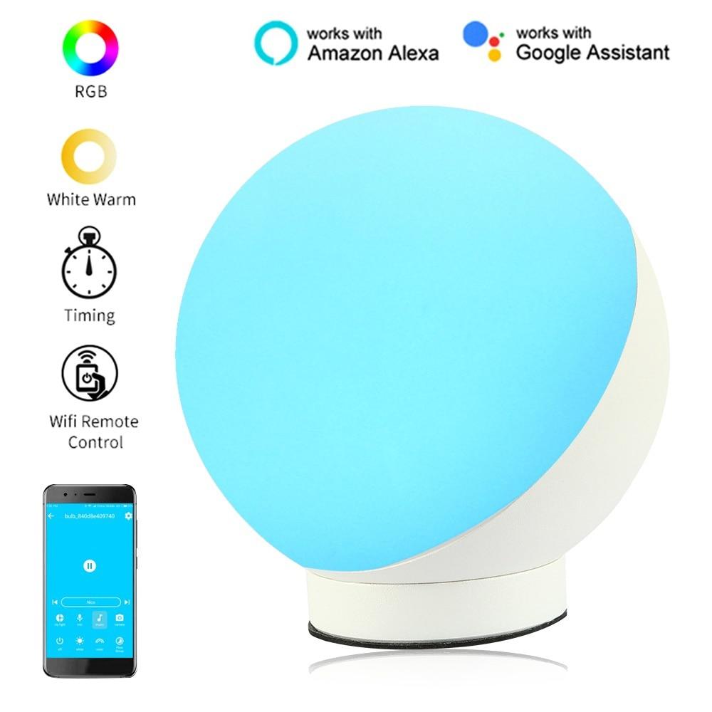 2019 Hot Sell EU/US Smart Eye Care Table Lamp 7W , Wifi Smart LED Light Bulb Works with Amazon Alexa Google Home Dot Echo