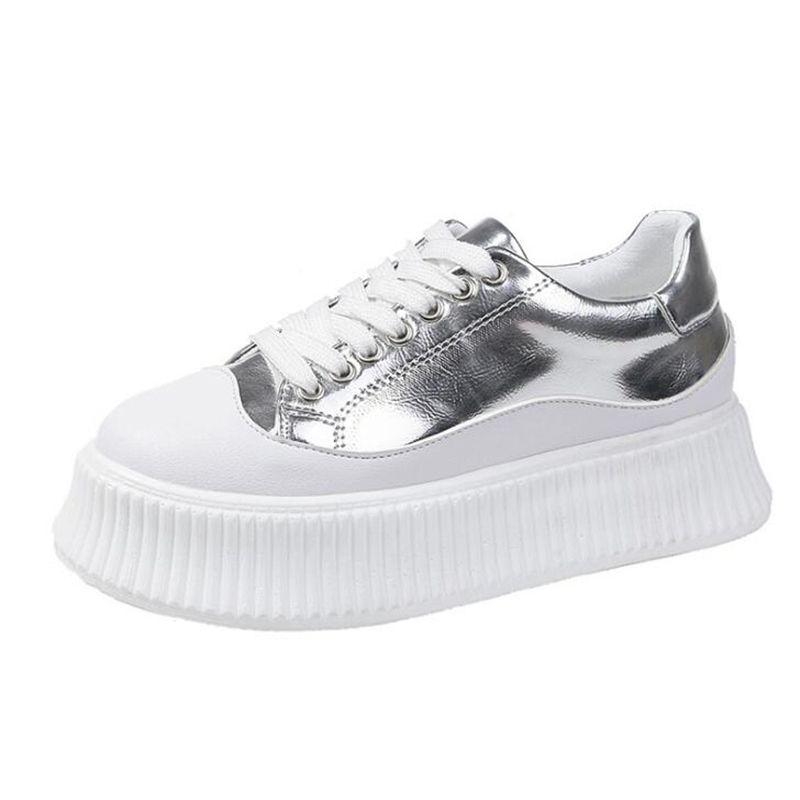 Platform Sneakers 2019 Fashion Woman Sneakers For Women Trainers Casual Shoes Woman Running Sports Shoes Brand Leather SneakersPlatform Sneakers 2019 Fashion Woman Sneakers For Women Trainers Casual Shoes Woman Running Sports Shoes Brand Leather Sneakers