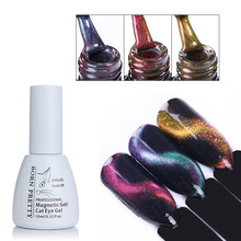 BORN PRETTY 10ml 3D Cat Eye Gel Polish Chameleon Magnetic Gel Soak Off UV Gel Varnish Manicure Nail Art UV Color