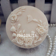 1 шт Бабочка и цветы(ZX107) Мыло ручной работы плесень ремесла DIY силиконовые формы