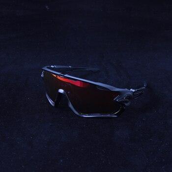 f3a6372dfc Gafas de ciclismo polarizadas de 5 lentes 2019 gafas de sol para bicicleta  de carretera UV400 gafas deportivas para montar en bicicleta MTB  fietsbrillen