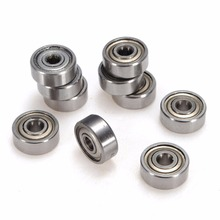 10pcs/set 623-ZZ 3x10x4mm Deep Groove Ball Miniature Bearings Use in RC Cars and Trucks