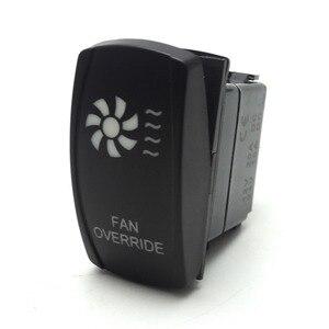 Image 2 - UTV Fan Override LED Reverse Lights LED Light Bar Rocker Switch for Polaris Ranger 900 800 RZR For Can am Commander 800R 1000