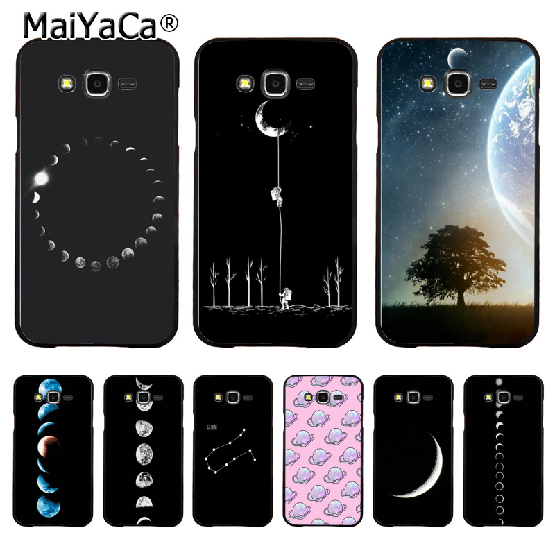 MaiYaCa Fashion Space Eclipse of the Moon Fashion phone case cover for samsung J5 j120 j3 j7(2015) note 3 note4 note5 case coque