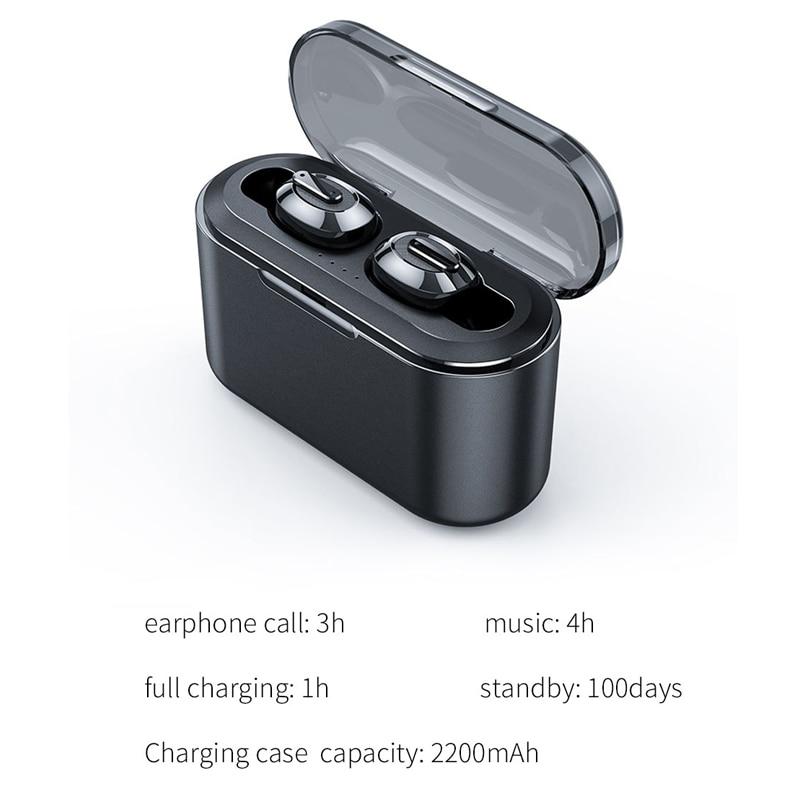 Image 5 - OUSU Invisible Bluetooth 5.0 Earphone TWS mini Wireless Earphones Sport Earbuds Handsfree Earpiece ecouteur sans fil bluetooth-in Bluetooth Earphones & Headphones from Consumer Electronics