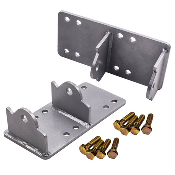 Pair left & right Engine Swap Adapter plate for GM vehicles LSX Engine