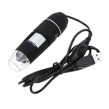 Best Buy 40X ~ 800X 8LED USB 2.0 Digital microscope endoscope magnifier camera camera driver with portable dimmable stand black