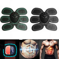 Smart EMS Abdominal Exerciser Fitness Body Massager Stimulator Muscles Intensive Training Arm Exerciser Electric Slimming Massag