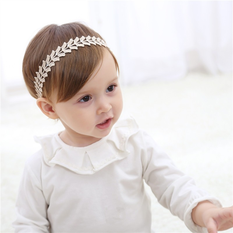 0 5 Y Headband Baby Wheat color Kids Girls Elastic Hair Accessories For Children Gold Hair Band accessoire in Hair Accessories from Mother Kids