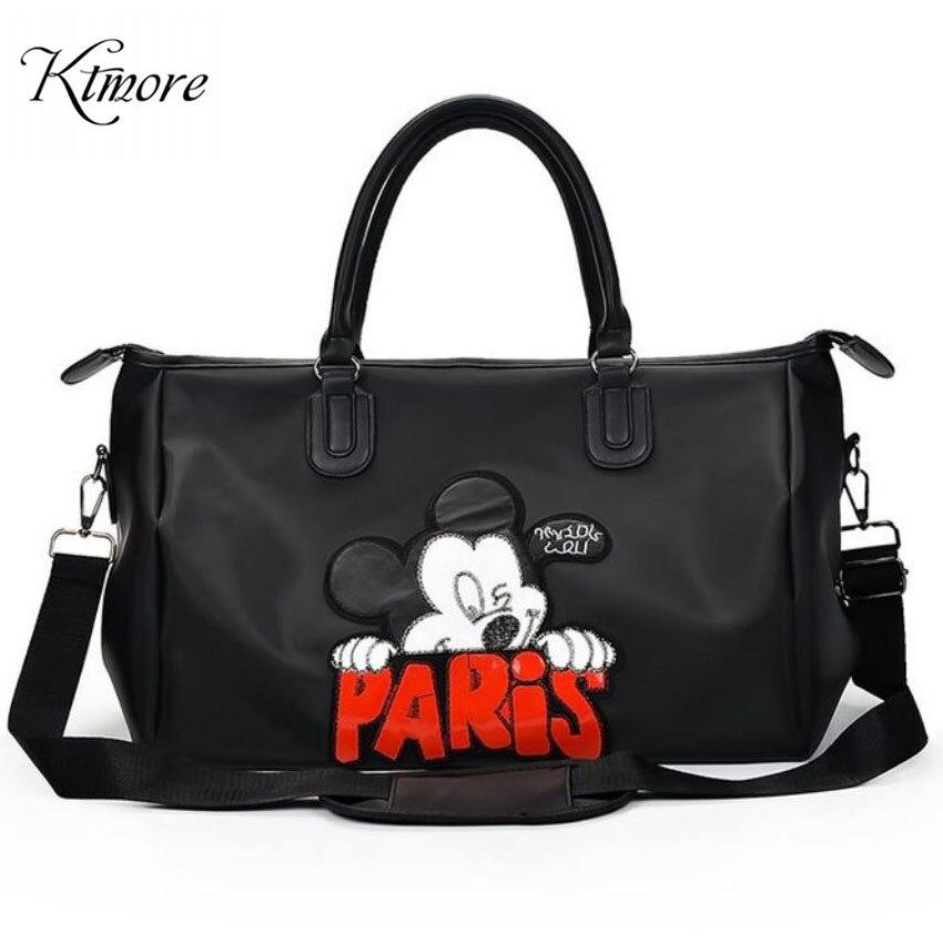 Mickey Shoulder Crossbody Bag For Women 2019 Female Messenger Bag High Capacity Minnie Handbag Women Bag Bolsas Feminina