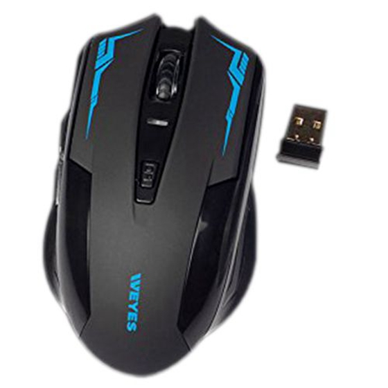 WEYES LT-038 plastic Wireless Game Mouse 6D 2.4G 11*4*3CM
