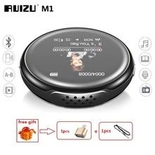 הכי חדש MP3 נגן RUIZU M1 Bluetooth ספורט מיני MP3 נגן אודיו נייד 8GB עם מובנה רמקול FM מוסיקת ספר אלקטרוני שחקנים