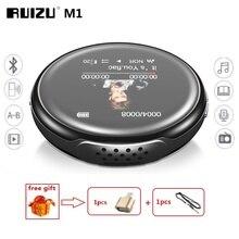ใหม่ล่าสุด MP3 เครื่องเล่น RUIZU M1 บลูทูธกีฬา MINI MP3 แบบพกพาเสียง 8GB ในตัวลำโพง FM เพลง E Book ผู้เล่น