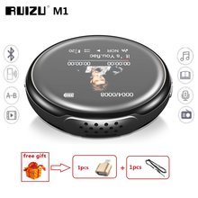 Newest MP3 Player RUIZU M1 Bluetooth Sport MINI MP3 Player Portable Audio 8GB with Built-in Speaker FM E-Book Music Players(China)