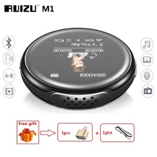 RUIZU reproductor de MP3 M1, MINI reproductor deportivo con Bluetooth, Audio portátil de 8GB con altavoz incorporado, Radio FM, E Book, reproductores de música