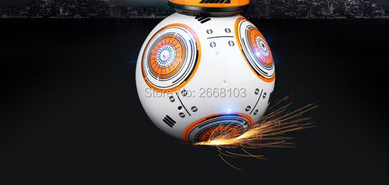 Upgrade Model Ball Star Wars RC BB-8 Droid Robot BB8 Intelligent Robot 2.4G Remote Control Toys For Girl Gifts With Sound Action 15