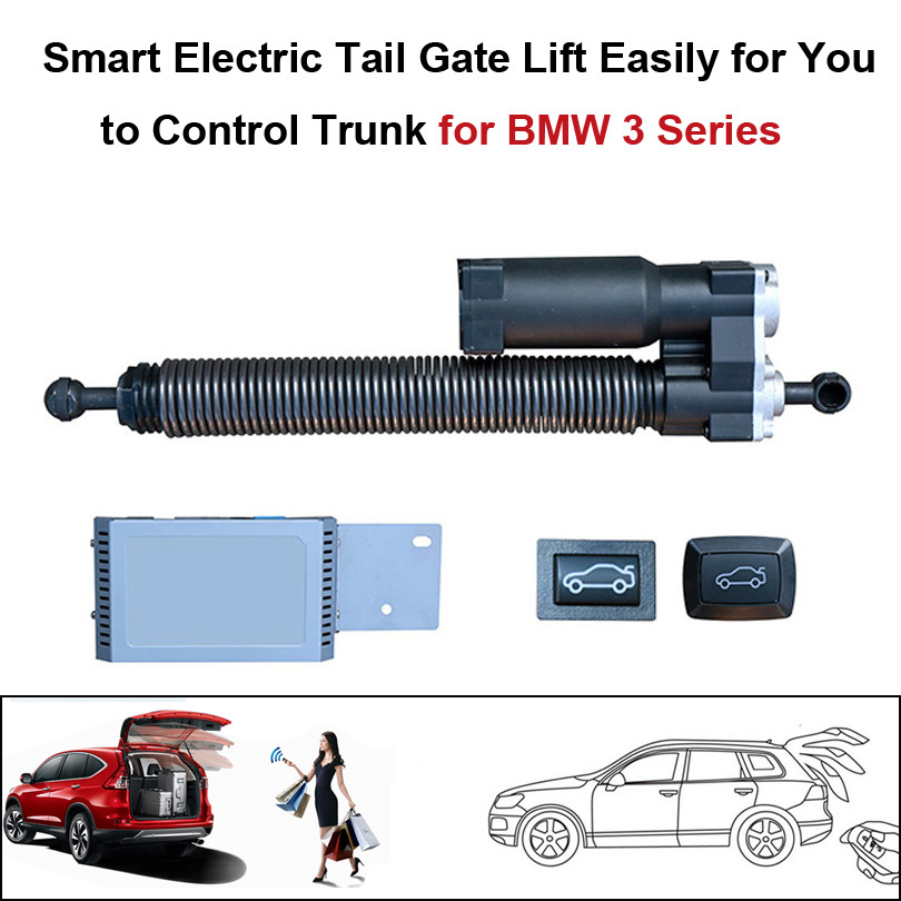 Smart Electric Tail Gate Lift Easy To Control Trunk For BMW 3 Series Control By The Remote