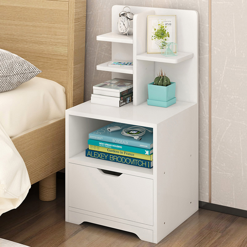 LK1666 Bedside Lockers Simple Modern Storage Rack with Drawers Cheap Assembly Nightstand European Corner Cabinets 2017 new children s cartoon plastic assembly simple wardrobe lockers storage cabinets resin composition baby for kit child