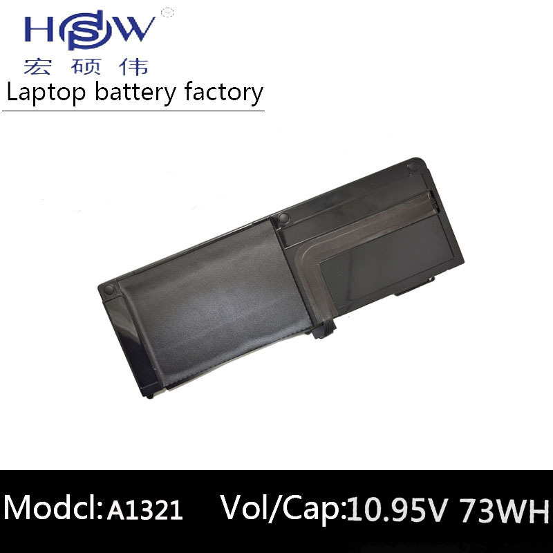 HSW Brand New replacement Laptop Battery A1321 For Apple for Macbook Pro 15