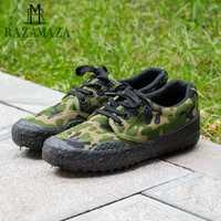 RAZAMAZA/размеры 38-45, Мужская Вулканизированная обувь в стиле милитари, Мужская обувь для тренировок, камуфляжная обувь на плоской подошве, на ш...