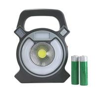 USB LED light Work lampe 18650 rechargeable portable Lampes Multifonction Rouge bleu Feu de Camp en plein air emplois led avec batterie