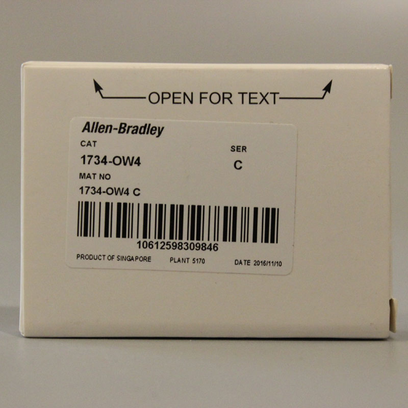 1734-OW4 1734OW4 PLC Controller,New & Have in stock 1pc used ab plc 1734 ow2