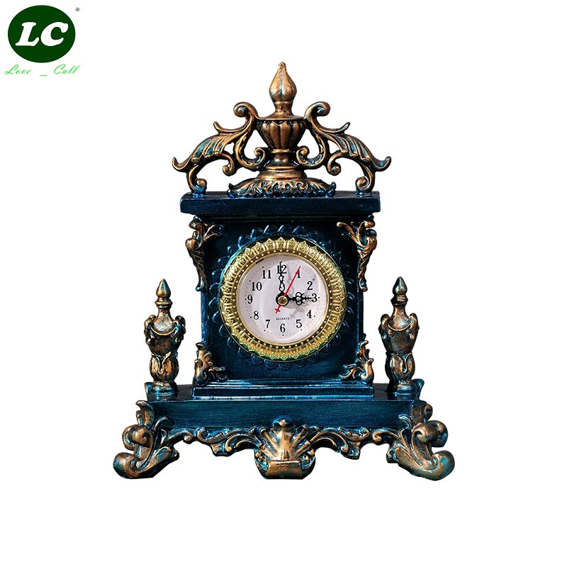 Horloge de bureau horloge classique salon bureau Table horloge muet pendule Art cadeau originalité Hdcraft