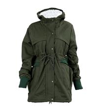 MYPF- New Women Thicken Warm Winter Coat Hood Parka Overcoat Long Jacket Outwear