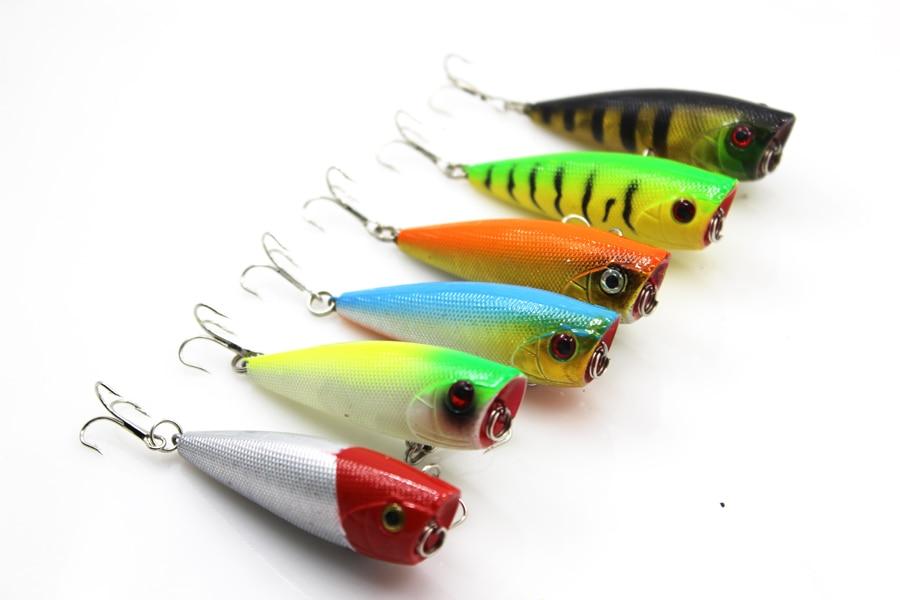 Lot 6 PCS Fishing Lure Deep Swim Hard Bait Fish 6 cm 6.9 g Artificial Baits Fishing Lure Japan Pesca
