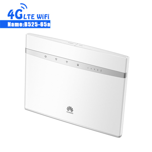 NEW Huawei B525 B525S-65a 4G LTE CPE Router b525s-65a 300Mbps WIFI Gateway Router Cat. 6 Mobile Hotspot +2CPS 4G Antenna(China)