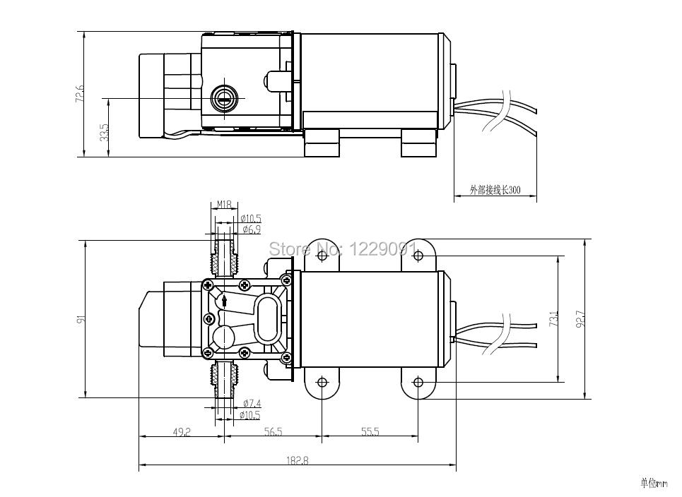 3210YB-12-100 drawing
