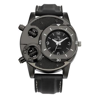 Męskie zegarki Top marka luksusowe V8 męskie zegarki projektant mody prezenty dla mężczyzn Sport zegarek kwarcowy relojes para hombre 2019 tanie i dobre opinie SOXY Moda casual QUARTZ Klamra Nie wodoodporne STAINLESS STEEL 24cm 13mm 20mm ROUND Kwarcowe Zegarki Na Rękę Papier