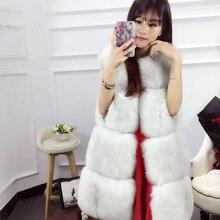 Import Of Fox Fur Vest Coat for Women New Winter Real Fox Fur Coat Women Fashion Coat Wholesale High-end Women Coat Jacket 10426