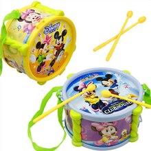 1 шт. пластиковый барабан детские развивающие музыкальные детские инструменты ребенка музыке toys детей дошкольного возраста музыкальные инструменты нового прибытия