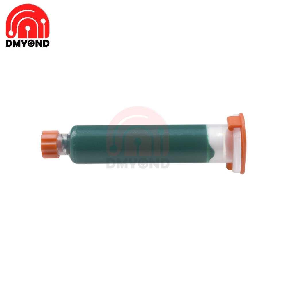 10cc УФ резист для пайки припой сопротивляющийся УФ-отверждаемый пайка большой мачты ремонт краски паяльная маска припой сопротивляющийся зеленому